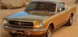 007 Goldfinger Mustang